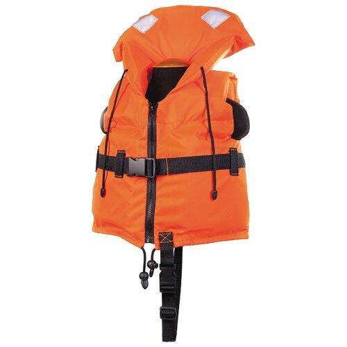 Спасательный жилет Спортивные Мастерские Юнга детский с подголовником SM-034 S оранжевый