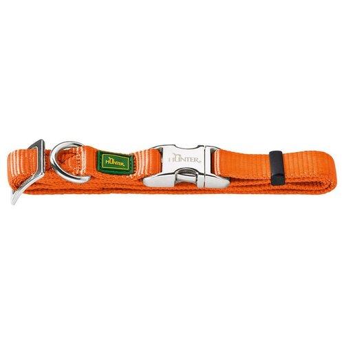 Ошейник HUNTER Basic Alu-Strong S 30-45 см orange ошейник hunter basic alu strong s 30 45 см red