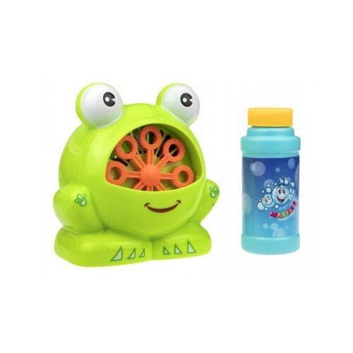 Мыльные пузыри 1 TOY Мы-шарики Лягушка, 118 мл Т17276 зеленый/оранжевый