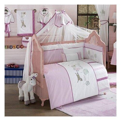 Купить Комплект из 6 предметов серии Little Farmer (Pink), Kidboo, Постельное белье и комплекты