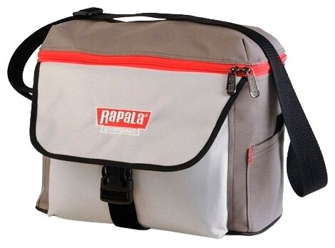 Сумка рыболовная RAPALA Sportsman 12 Shoulder Bag серая