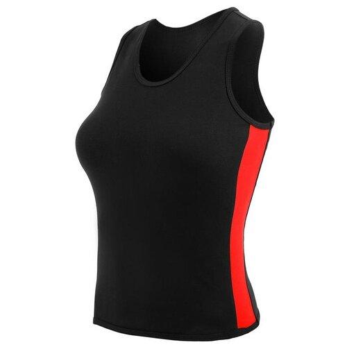 Майка Grace Dance размер 40, черный/красный