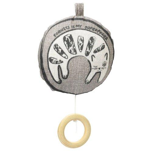 Купить Подвесная игрушка Elodie Kindness Cat (70840123630NA) серый, Подвески