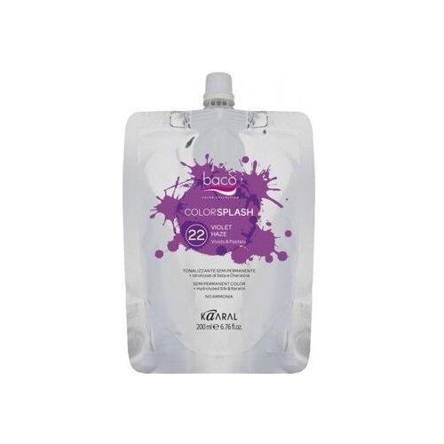 Купить Краситель прямого действия Kaaral Baco Color Splash 22 Violet Haze, 200 мл