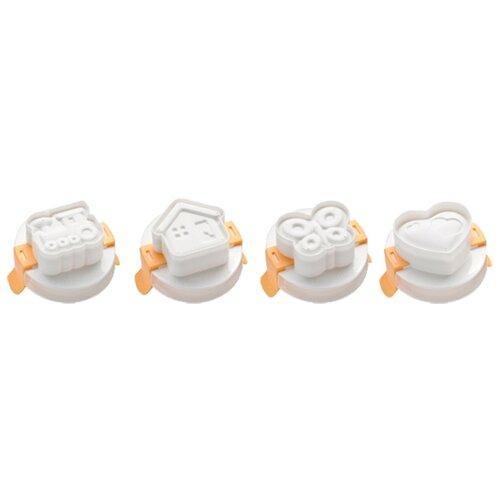 Пресс-форма для яиц Tescoma PRESTO 420658, 4 шт. белый/бежевый