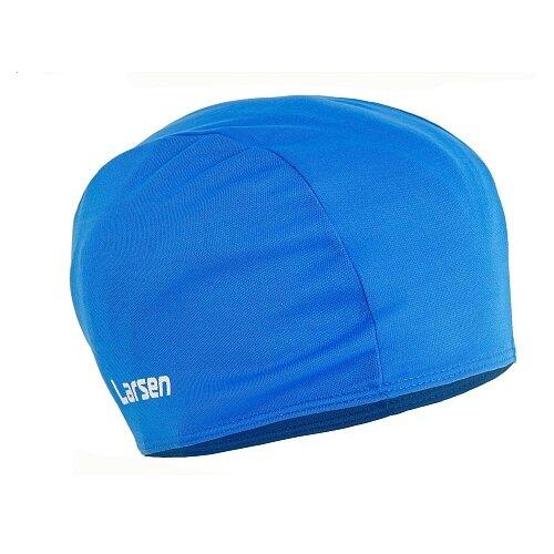 Шапочка для плавания Larsen 3220D синий
