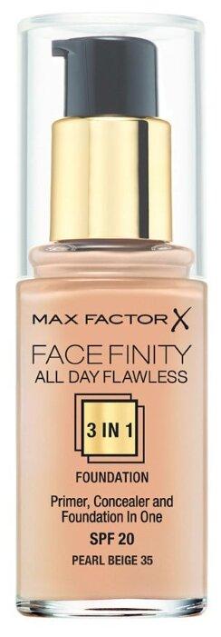 Max Factor Тональный крем Facefinity All Day Flawless 3-in-1, 30 мл — купить по выгодной цене на Яндекс.Маркете