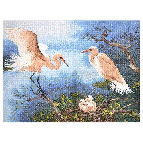 Купить Hobby & Pro Набор для вышивания Уютное гнездышко 37 х 28 см (964), Наборы для вышивания