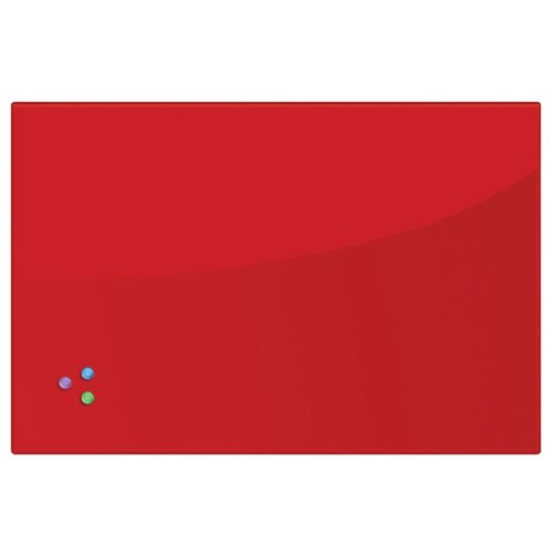 Доска стеклянная магнитно-маркерная BRAUBERG 236747/236748/236749 (60х90 см) красный доска стеклянная магнитно маркерная brauberg 236745 40х60 см черный