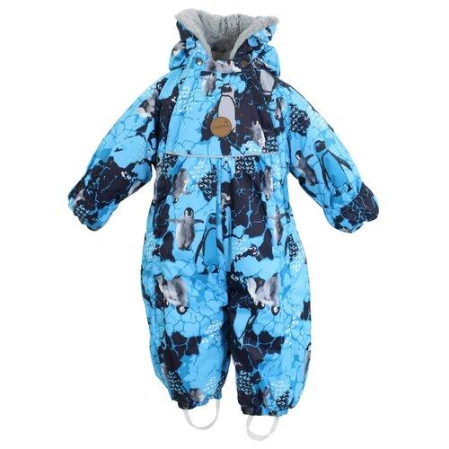 Купить Комбинезон-трансформер Huppa Mary 32630030-936 размер 68, 93636 turquoise pattern, Теплые комбинезоны