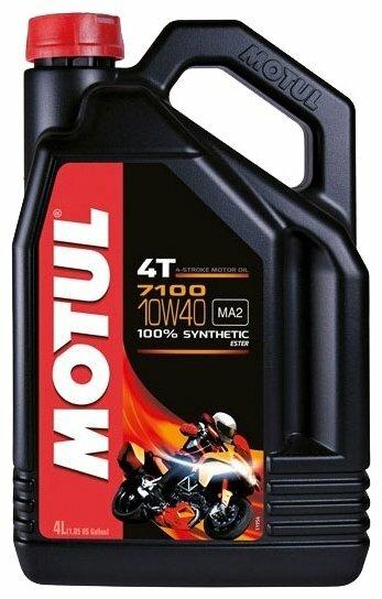 Моторное масло Motul 7100 4T 10W40 4 л — стоит ли покупать? Выбрать на Яндекс.Маркете