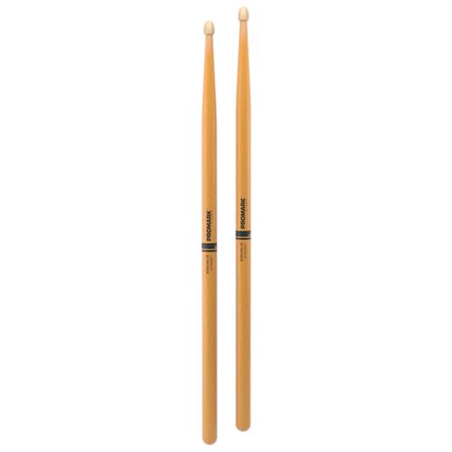 Фото - Барабанные палочки Pro-Mark Rebound 5B ActiveGrip Clear барабанные палочки pro mark rebound 7a activegrip