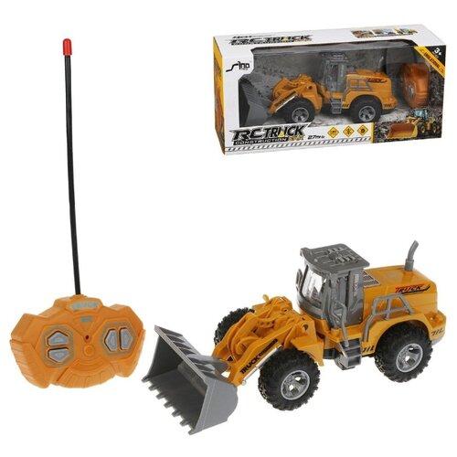 Купить Трактор Наша Игрушка р/у, 4 канала, свет (JH74-5), Наша игрушка, Радиоуправляемые игрушки