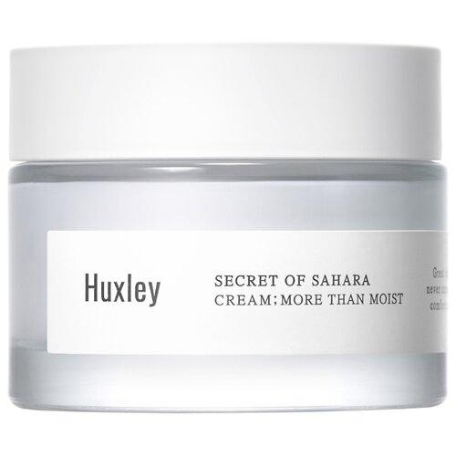 Huxley Secret of Sahara Cream More Than Moist Крем для лица интенсивное увлажнение, 50 мл huxley secret of sahara essence brightly ever after сыворотка для сияния кожи лица 30 мл