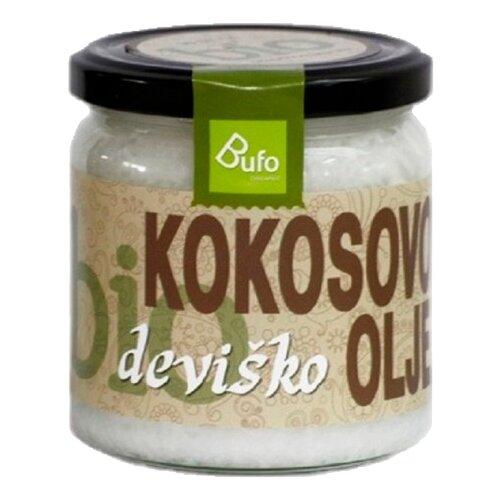 Bufo Масло кокосовое холодного отжима 0.5 л кокосовое масло холодного отжима мини 100 мл