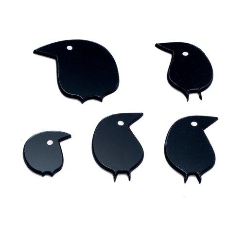 Комплект наклеек на выключатель DS Studio Птички, объемные