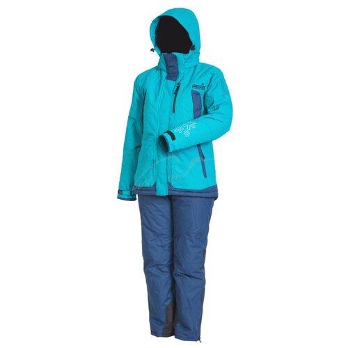 Костюм зимний NORFIN Women Snowflake 2 голубой XL