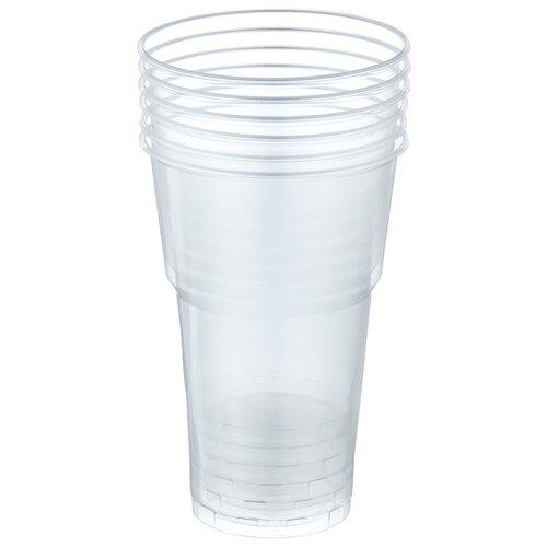 Celesta Стаканы одноразовые пластиковые 500 мл (6 шт.) бесцветный