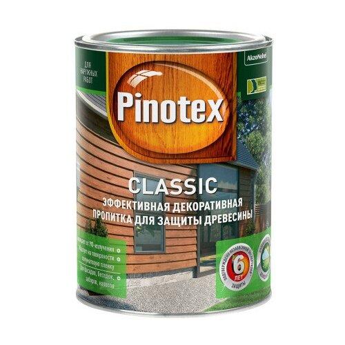 Фото - Водозащитная пропитка Pinotex Classic орегон 1 л водозащитная пропитка pinotex classic светлый дуб 1 л