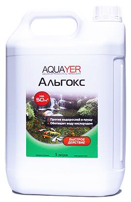 Жидкость для водоема Aquayer Альгокс