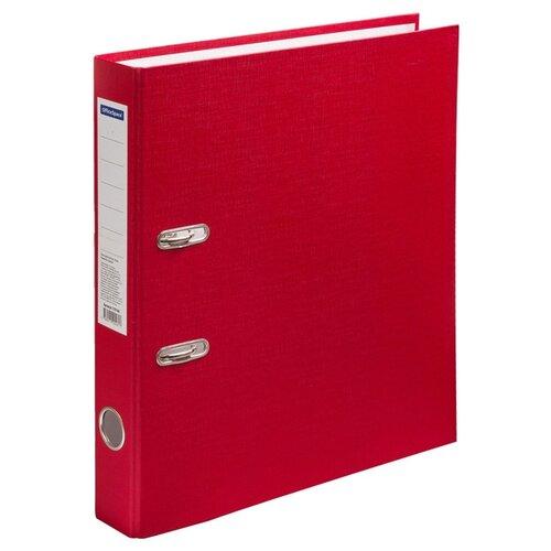 Купить OfficeSpace Папка-регистратор A4, бумвинил, 50 мм красный, Файлы и папки