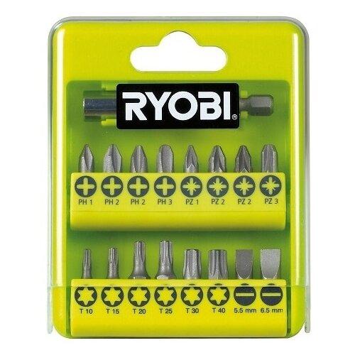 Набор бит RYOBI RAK17SD, 17 предм., черный/желтый