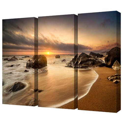 Модульная картина Toplight TL-M2054 150х100 см картина бордовые тюльпаны трихтин модульная 2943431 125 х 73 см
