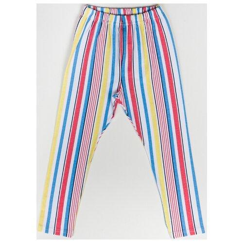 Брюки artie ABr-433d размер 74, белый/розовый/голубой/желтый брюки artie размер 74 48 синий