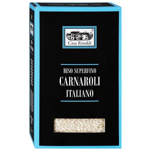 Рис Casa Rinaldi Карнароли Carnaroli среднезерный непропаренный 1 кг рис casa rinaldi карнароли длиннозёрный полуобрушенный 500 г