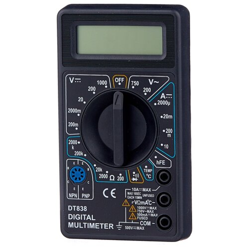 Мультиметр цифровой РЕСАНТА DT 838