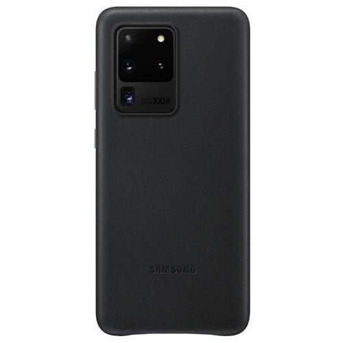 Чехол Samsung EF-VG988 для Samsung Galaxy S20 Ultra, Galaxy S20 Ultra 5G черный чехол samsung ef aj530 для samsung galaxy j5 2017 черный