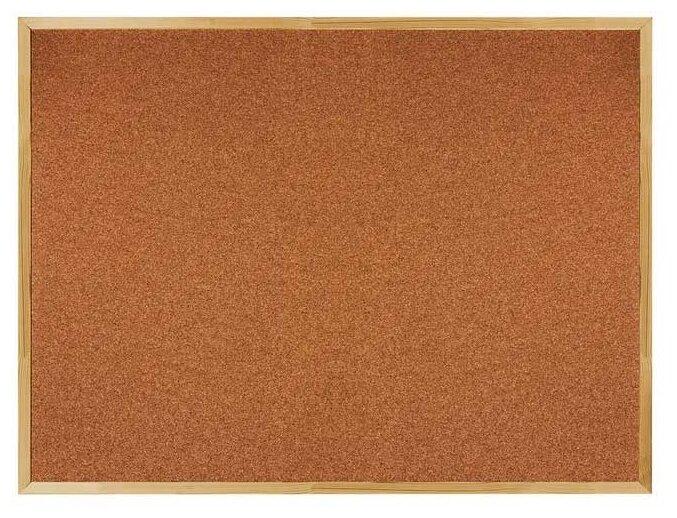 Доска пробковая BRAUBERG 236861 (90х120 см)