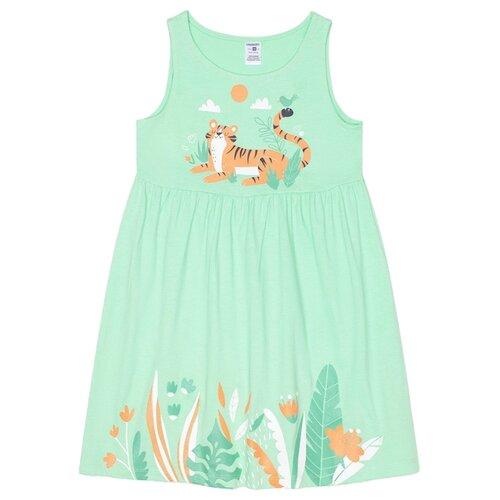 Купить Платье crockid размер 92, Весенняя зелень, Платья и юбки