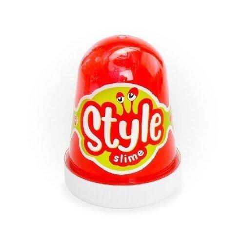 Купить Лизун LORI Style Slime с ароматом клубники красный, Игрушки-антистресс