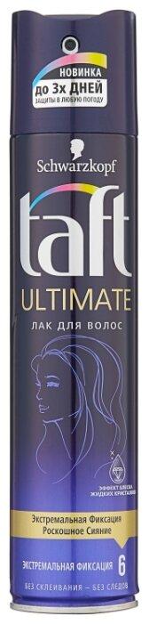 Taft Лак для волос Ultimate, экстрасильная фиксация