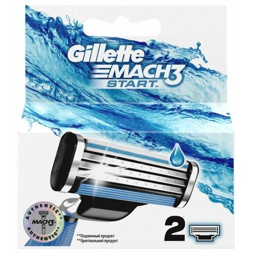 Сменные кассеты Gillette Mach3 Start, 2 шт.
