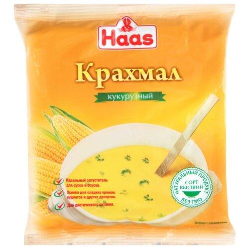 Фото - Haas Крахмал кукурузный 200 г желатин пищевой haas 10 г
