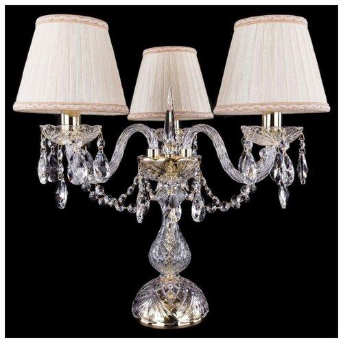 Настольная лампа Bohemia Ivele Crystal 1406L/3/141-39 G SH33A-160, 120 Вт настольная лампа bohemia ivele crystal 1406l 3 141 39 g sh13a 160 120 вт