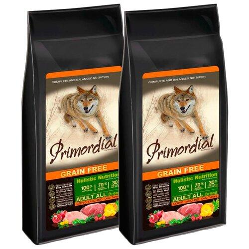 Корм для собак Primordial (12 кг) Adult All Breed Оленина, индейка 2 шт. 2шт. х 12 кг