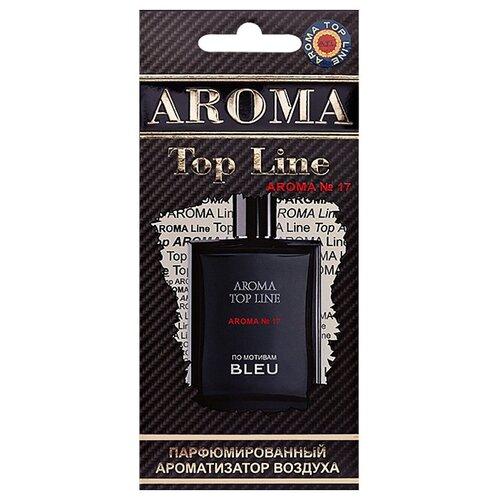 AROMA TOP LINE Ароматизатор для автомобиля Aroma №17 Chanel Bleu 14 г