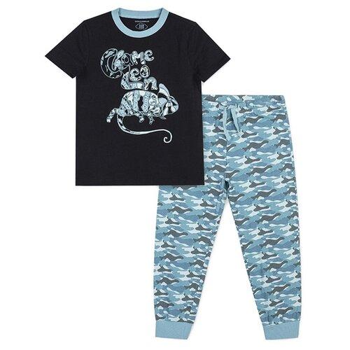Пижама COCCODRILLO размер 104, голубой/синий пижама coccodrillo размер 104 голубой синий