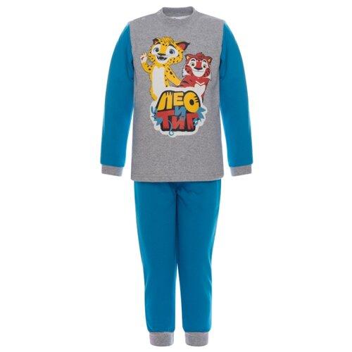 Купить Комплект одежды Утенок размер 92, бирюза Лео и Тиг, Комплекты