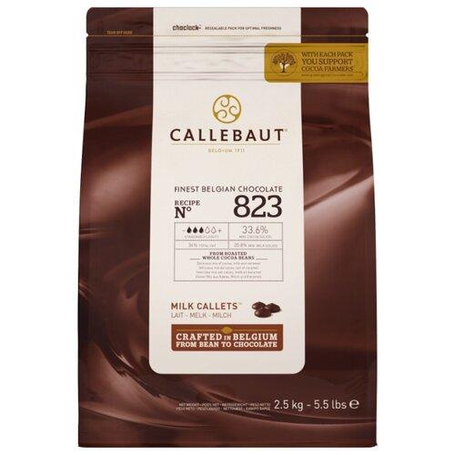 Callebaut №823 молочный, 33.6% какао 2500 г Коричневый (шоколад)