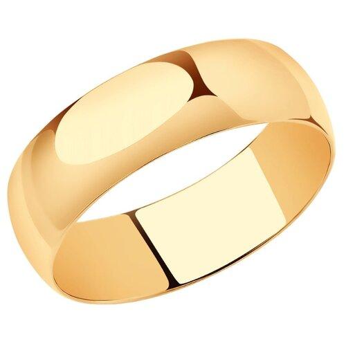 SOKOLOV Широкое обручальное кольцо 110029, размер 16