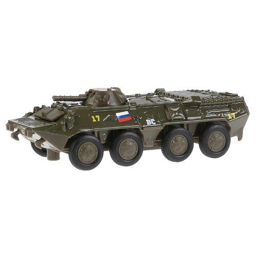 Купить Бронетранспортер ТЕХНОПАРК SB-16-19-BTR-G-WB 12 см зеленый, Машинки и техника