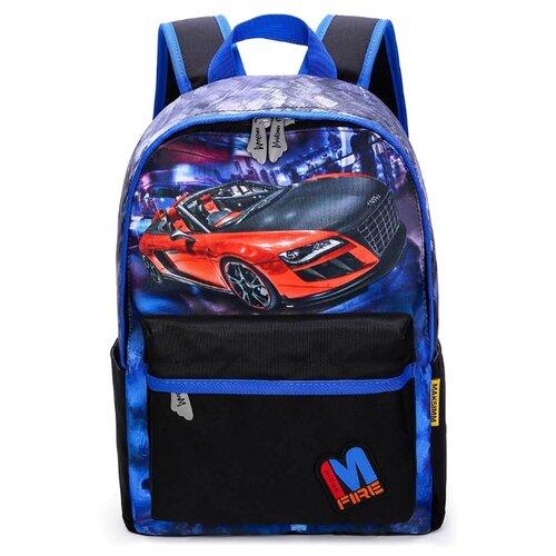 Купить Maksimm рюкзак К719, синий/черный, Рюкзаки, ранцы