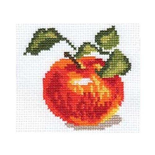 Купить Алиса Набор для вышивания Яблочко 8 х 8 см (0-049), Наборы для вышивания