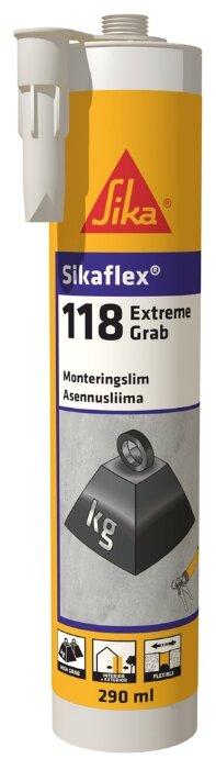Монтажный клей Sika Sikaflex118 Extreme Grab белый (290 мл)