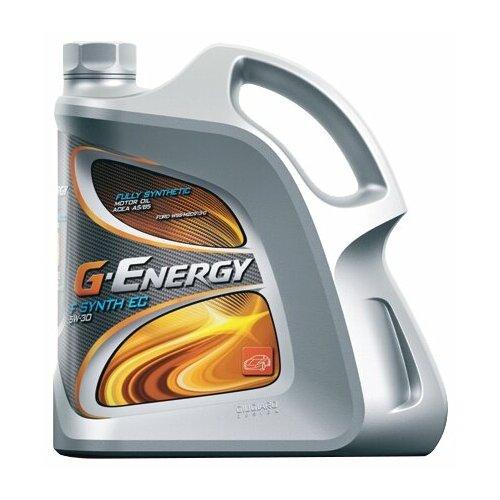 Моторное масло G-Energy F Synth EC 5W-30 4 л energy ec 07