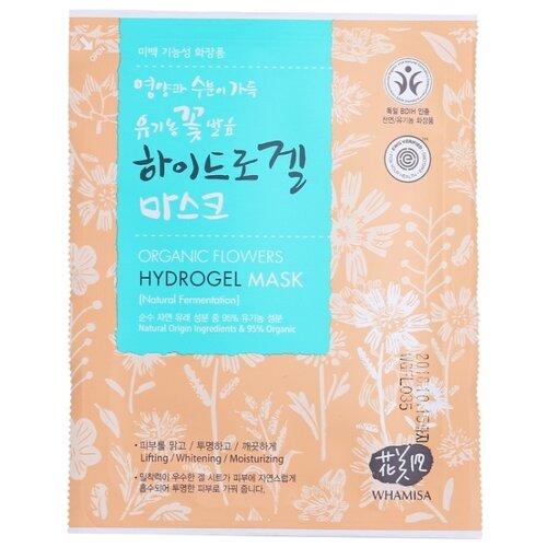 Whamisa Organic Flowers Hydrogel маска гидрогелевая на основе цветочных ферментов, 33 г недорого